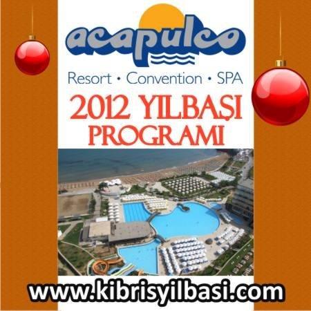 Acapulco Resort Otel 2012 Yılbaşı Programı