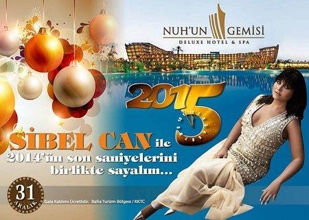 Nuhun Gemisi Otel 2015 Yılbaşı Programı