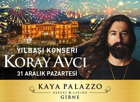 Kaya Palazzo Kıbrıs Yılbaşı 2019