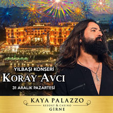 Kaya Palazzo Yılbaşı 2019 - Koray Avcı