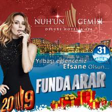 Nuhun Gemisi Otel Yılbaşı 2019