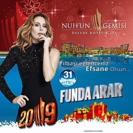 Nuh'un Gemisi Otel Yılbaşı Programı 2019
