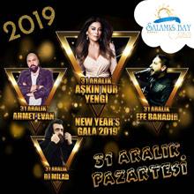Salamis Bay Conti Yılbaşı 2019 - Aşkın Nur Yengi