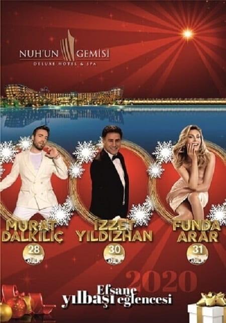 Nuhun Gemisi Otel Kıbrıs Yılbaşı Programı 2020