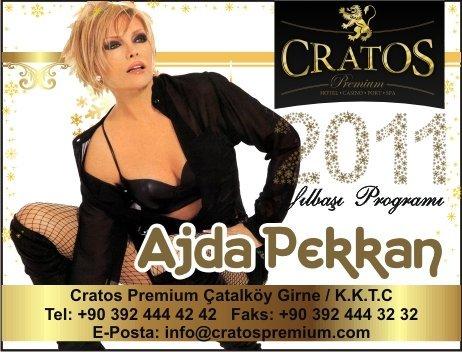 2011 Yılbaşı Konseri Ajda Pekkan @ Cratos Premium Hotel