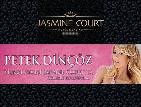 Petek Dinçöz 2011 Yılbaşı Gecesi Jasmine Court Hotel & Casino
