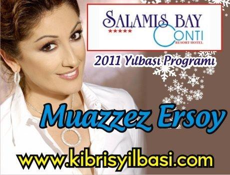 Salamis Bay Conti Hotel 2011 Yılbaşı Programı – Muazzez Ersoy 2011 Yılbaşı