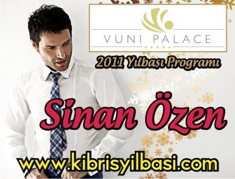 Vuni Palace Hotel 2011 Yılbaşı Programı – Sinan Özen 2011 Yılbaşı
